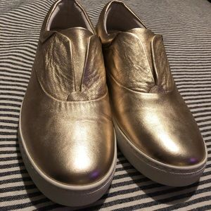 NEW Boden gold super comfortable shoes 81/2 40